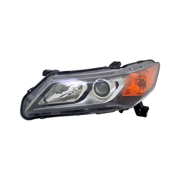 Acura ILX With Factory Halogen Headlights 2014
