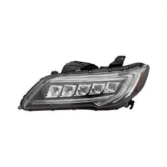 Acura Custom Factory Headlights Projector LED Euro Halos - 2018 acura tsx headlights