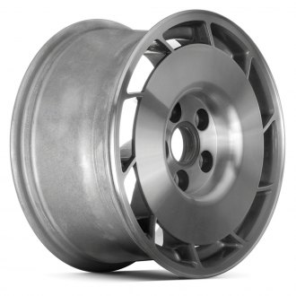 "Replace® - 16"" Remanufactured 10 Slots Medium Gray Silver Textured Factory Alloy Wheel"