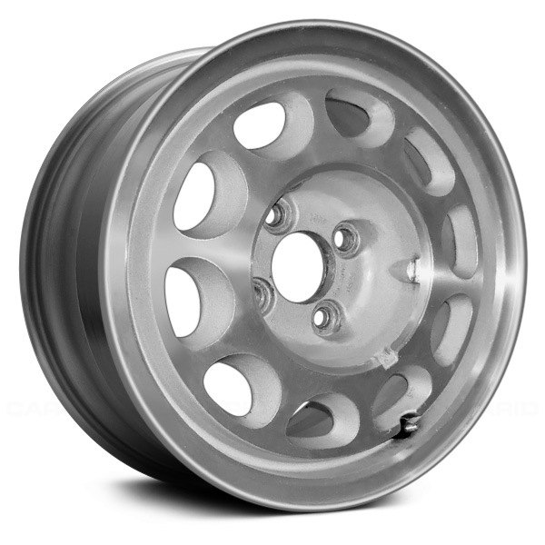 "Replace® - 15"" Remanufactured 10 Holes As Cast Machined Factory Alloy Wheel"