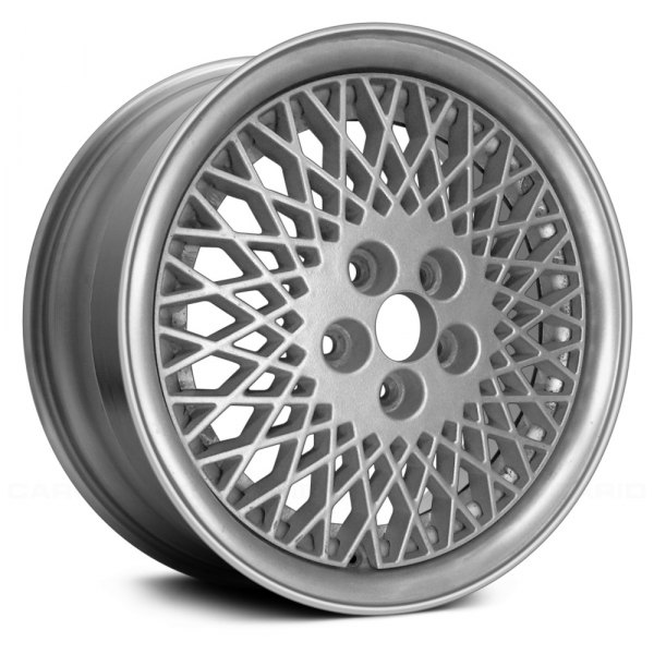 "Replace® - 15"" Remanufactured Diamond Design Light Sparkle Silver Textured Factory Alloy Wheel"
