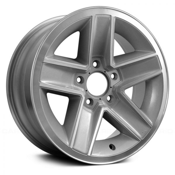 "Replace® - 15"" Remanufactured 5 Spokes Argent Factory Alloy Wheel"