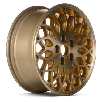 "Replace® - 16"" Remanufactured Web Design Gold Factory Alloy Wheel"