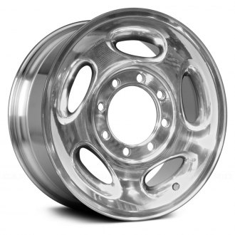 "Replace® - 16"" Remanufactured 5 Spokes Polished Factory Alloy Wheel"