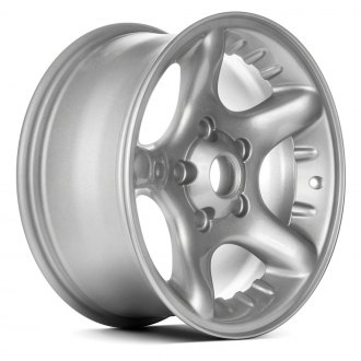 "Replace® - 17"" Remanufactured 5 Spokes Sparkle Silver Factory Alloy Wheel"