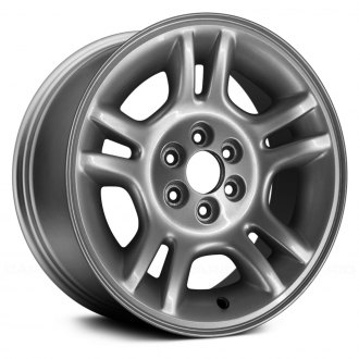 "Replace® - 16"" Remanufactured 10 Spokes Dark Silver Factory Alloy Wheel"