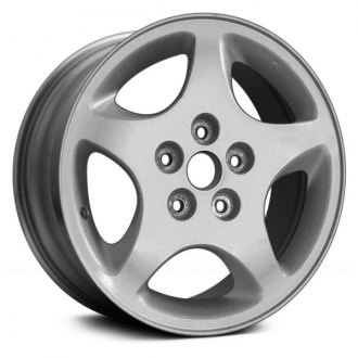 "Replace® - 16"" Remanufactured 5 Spokes Sparkle Silver Factory Alloy Wheel"