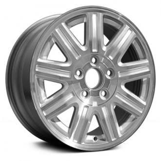 2005 chrysler town and country replacement factory wheels rims Chrysler Minivan Concept replace 16x6 5 9 spoke chrome alloy factory wheel remanufactured