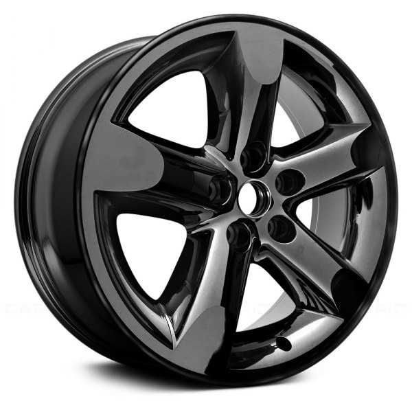 "Replace® - 20"" Remanufactured 5 Spokes Dark PVD Chrome Factory Alloy Wheel"