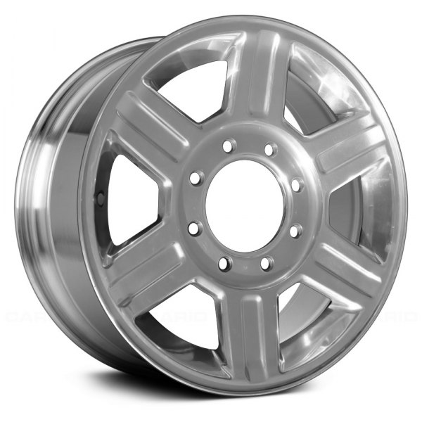 "Replace® - 17"" Remanufactured 6 Spokes Full Polished Factory Alloy Wheel"