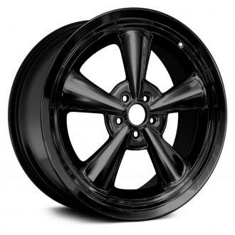 "Replace® - 20"" Remanufactured 5 Spokes All Painted Gloss Black Factory Alloy Wheel"