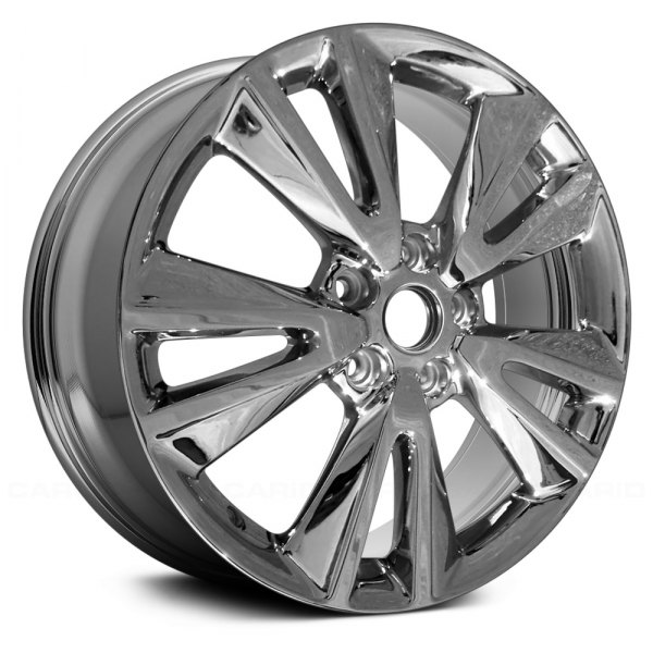 "Replace® - 20"" Remanufactured 5 V Spokes Light PVD Chrome Factory Alloy Wheel"