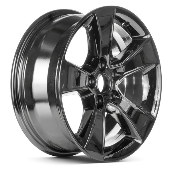 "Replace® - 17"" Remanufactured 5 Spokes Dark PVD Chrome Factory Alloy Wheel"