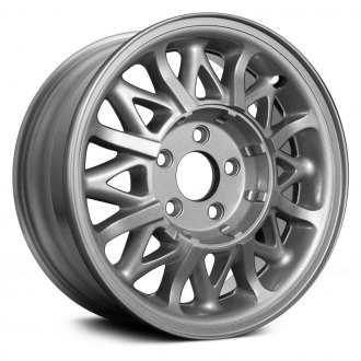 "Replace® - 15"" Remanufactured 24 Spokes Silver Factory Alloy Wheel"