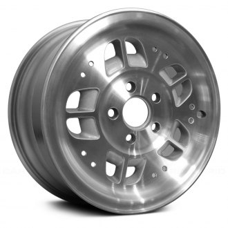 "Replace® - 15"" Remanufactured 20 Holes Light Sparkle Silver Factory Alloy Wheel"