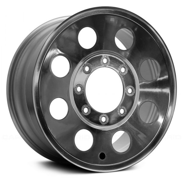 "Replace® - 16"" Remanufactured 8 Round Vents As Cast Machined Factory Alloy Wheel"