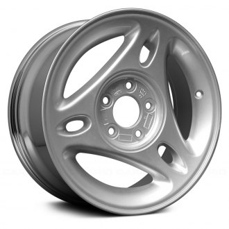 "Replace® - 15"" Remanufactured 3 Spokes Aftermarket Chrome Factory Alloy Wheel"