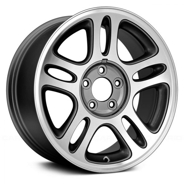 "Replace® - 17"" Remanufactured 10 Spokes Medium Gray Factory Alloy Wheel"