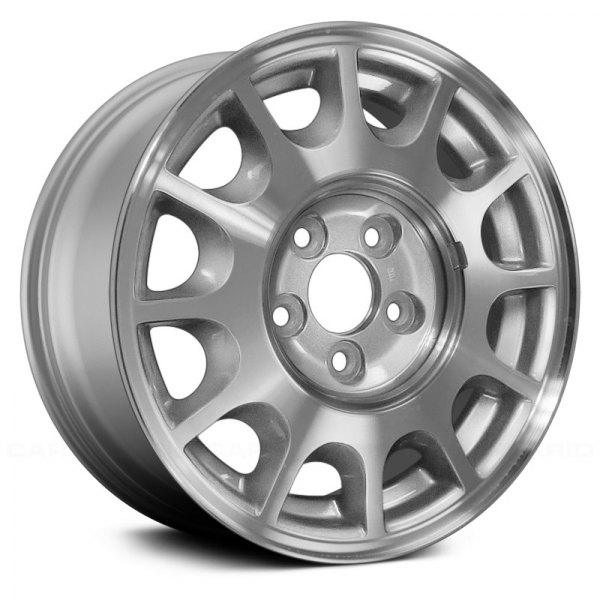 "Replace® - 15"" Remanufactured 12 Spokes Sparkle Silver Factory Alloy Wheel"