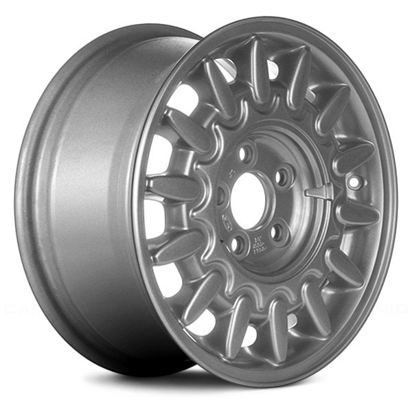 "Replace® - 15"" Remanufactured 14 Spokes Argent Factory Alloy Wheel"