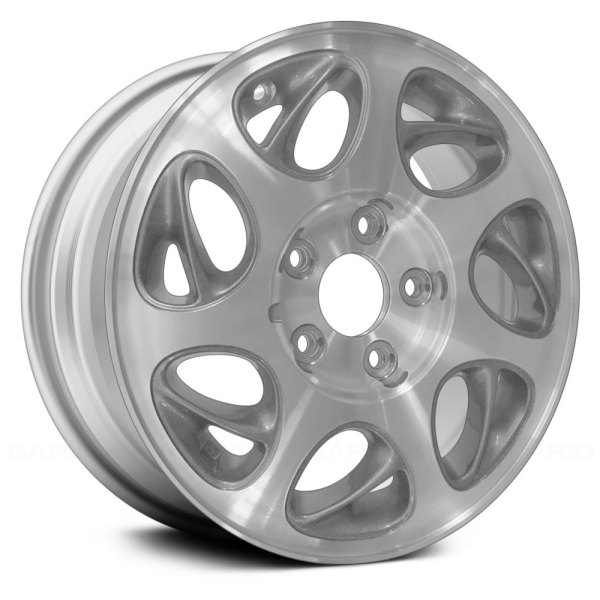 "Replace® - 15"" Remanufactured 7 Pockets Silver Factory Alloy Wheel"