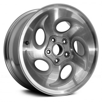 "Replace® - 15"" Remanufactured 5 Oval Vents Factory Alloy Wheel"