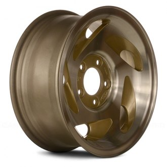 "Replace® - 17"" 5 Holes Gold Factory Alloy Wheel"