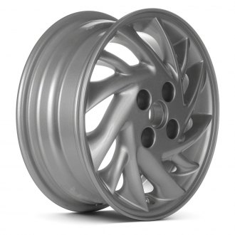 "Replace® - 14"" Remanufactured 12 Spokes Silver Factory Alloy Wheel"