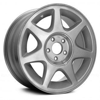 "Replace® - 16"" Remanufactured 7 Spokes Silver Factory Alloy Wheel"