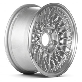 "Replace® - 15"" Remanufactured 5 Double Spokes Sparkle Silver Factory Alloy Wheel"