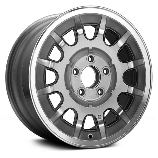 "Replace® - 15"" Remanufactured 12 Spokes Silver Factory Alloy Wheel"