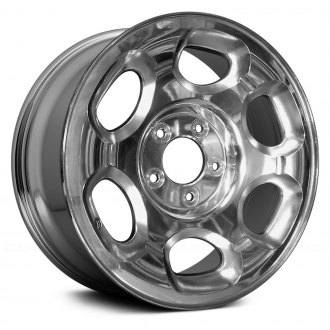 Replace® - 17x7.5 6 Oval-Vent Chrome Alloy Factory Wheel (Remanufactured)