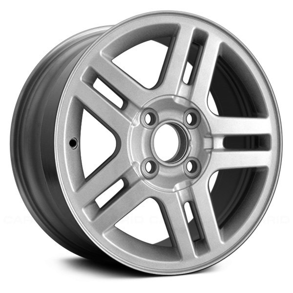 "Replace® - 15"" Remanufactured 5 Double Spokes Chrome Factory Alloy Wheel"