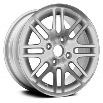"Replace® - 15"" Replica 16 Spokes All Painted Silver Factory Alloy Wheel"