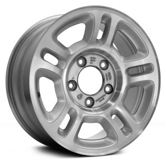 "Replace® - 16"" Remanufactured 5 Double Spokes Sparkle Silver Factory Alloy Wheel"