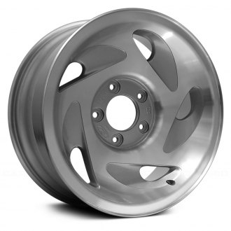 "Replace® - 17"" Remanufactured 5 Swirl Oval Spokes As Cast Machined Factory Alloy Wheel"