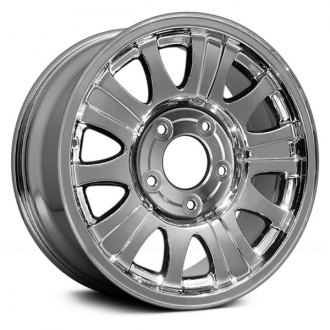 "Replace® - 17"" Remanufactured 10 Holes Chrome Factory Alloy Wheel"