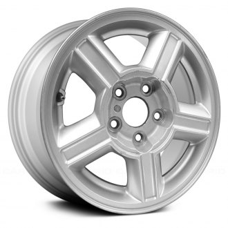 Replace 15x6 5 Spoke Silver Alloy Factory Wheel Remanufactured