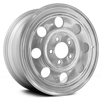 "Replace® - 15"" Remanufactured 8 Round Holes Silver Factory Alloy Wheel"
