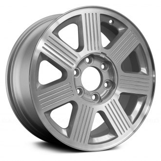 Replace® - 18x7.5 7-Spoke Silver Alloy Factory Wheel (Remanufactured)