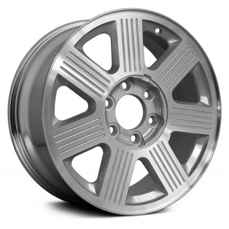Replace® - 18x7.5 7-Spoke Chrome Alloy Factory Wheel (Remanufactured)