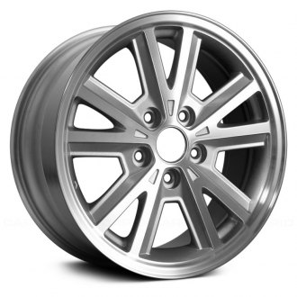 "Replace® - 16"" Replica 5 Split Spokes Machined and Silver Factory Alloy Wheel"