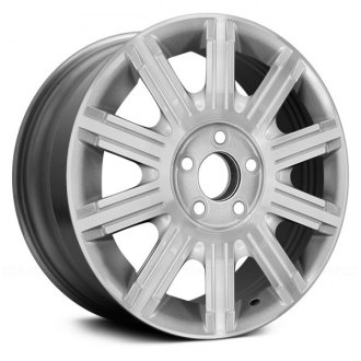 "Replace® - 17"" Remanufactured 10 Spokes Machined and Silver Factory Alloy Wheel"