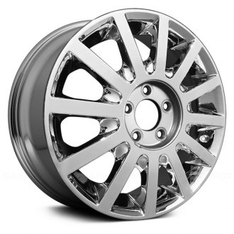 "Replace® - 17"" Remanufactured 12 Spokes Chrome Factory Alloy Wheel"