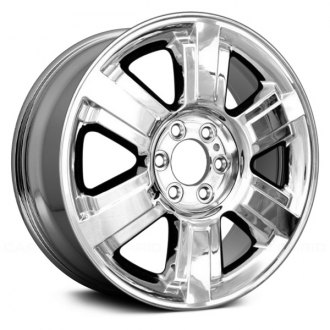 2006 ford f 150 replacement factory wheels rims carid 06 Ford F-150 Parts replace 20x8 5 6 spoke chrome alloy factory wheel remanufactured