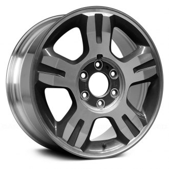 2007 ford f 150 replacement factory wheels rims carid 2006 F150 Extended Cab Blue replace 18x7 5 5 spoke bright polished alloy factory wheel remanufactured