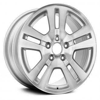 Replace   Double Spokes Silver Factory Alloy Wheel