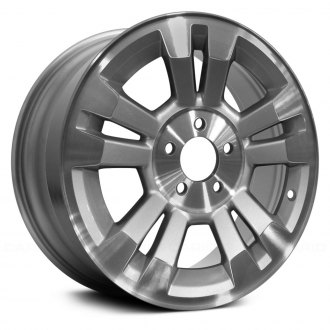 "Replace® - 16"" Remanufactured 5 Double Spokes Machined and Silver Factory Alloy Wheel"