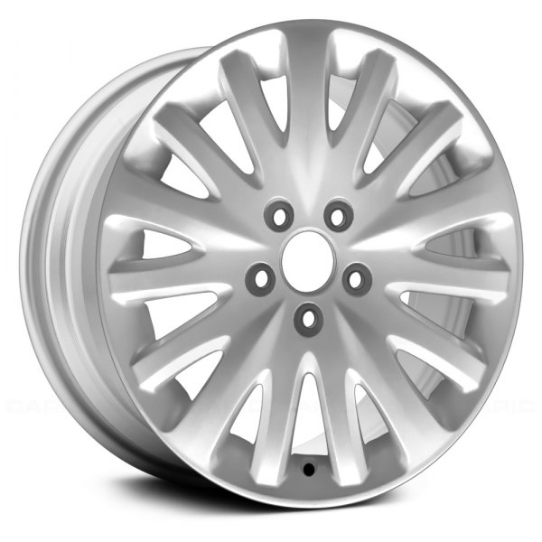 "Replace® - 17"" Remanufactured 15 Spokes Silver Factory Alloy Wheel"