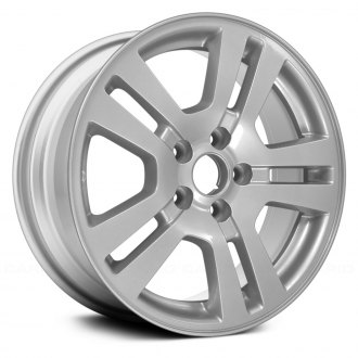 Replace  Double Spokes All Painted Silver Factory Alloy Wheel